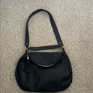 "Onna Ehrlich ""Rachel"" Genuine Leather Hobo Hangbag"